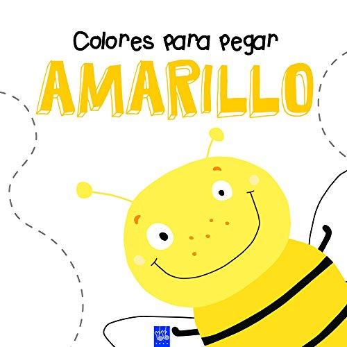 Colores para pegar. Amarillo