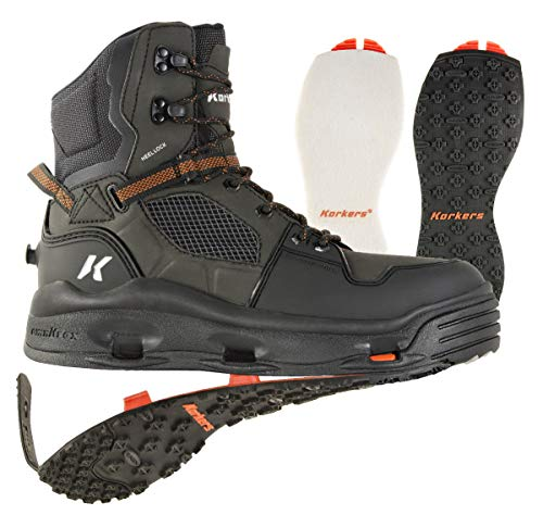 Korkers Terror Ridge Wading Boot (12 - Felt/Kling-On)