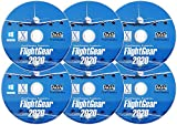 FlightGear 2020 | Realistic Flight Simulator Plane & Helicopter Sim | Deluxe Edition Flight Gear 600+ Aircraft & 20,000 Real Airports | DVD CD Discs for Microsoft Windows 10 8 7 Vista PC & Mac OS X