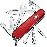 Victorinox Climber Couteau de Poche Suisse, Léger, Multitool, 14 Fonctions, Lame, Ouvre Boite,...