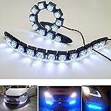 Parkomm Lot de 2 Feux de Circulation diurnes 12 LED pour Feux de...