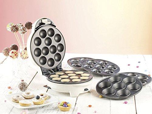 Rosenstein & Söhne Donatmaker: 3in1-Donut-, Cupcake-...