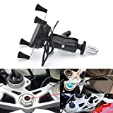 Motorcycle Phone Mount Mobile Phone Holder Fixing Device Adjustable Size Fit on All Motorcycles With Holes