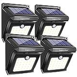 28 LEDs Solar Lights Outdoor, Luposwiten Solar Motion Sensor Lights Wireless Security Lights,...