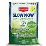 BIOADVANCED 712000A Slow Conditioner, Eco Friendly Green Grass Lawn Spray, Reduces Mowing Frequency, 10.4-Pound, Ready-to-Spread Granules