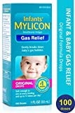 Mylicon Gas Relief Drops for Infants and Babies, Original Formula, 1 Fluid Ounce