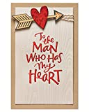 American Greetings Romantic Valentine's Day Card for Him (Man Who Has...