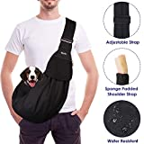 SlowTon Chien Sling Carrier Pet Chiot Sac Mains Libre Kitty Lapin Petits...