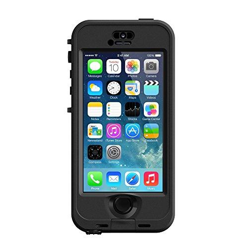 LifeProof ND SERIES Waterproof Case for iPhone 5/5s/SE - Retail Packaging - BLACK (BLACK/SMOKE)