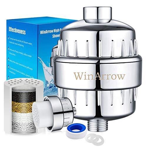 WinArrow No Contaminación Reemplazables de Alta Salida Universal Filtro de la Ducha Purificador de...