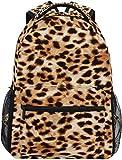 Mochila Grande con Estampado de Leopardo de Nigel Tomm, Mochila Personalizada para Ordenador portátil, iPad, Tableta, Viaje, Mochila Escolar con múltiples Bolsillos