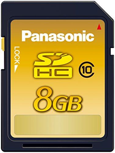 Panasonic 8GB SDHCメモリーカード CLASS10 RP-SDWA08GJK