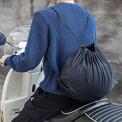 ヘルメット 袋 保管 ヘルメット バッグ 保護 ヘルメット 収納 バッグ バイク/サッカー/バスケットボール 収納 27L 大容量 ブラック