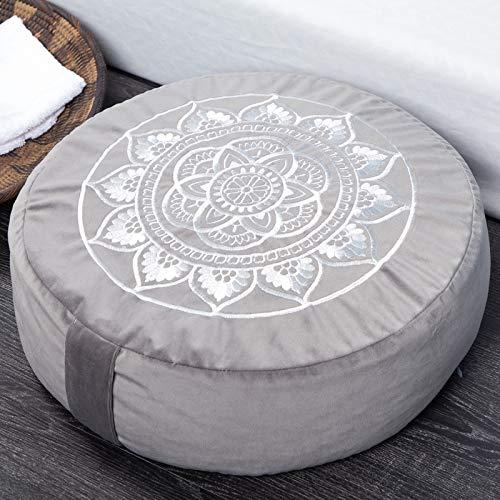 Florensi Meditation Cushion (16'x16'x5'), Large Velvet...