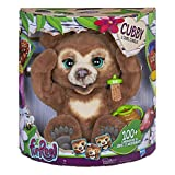 Furreal Friends Peluche Interactive Cubby, l'Ours Curieux - Version française