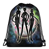 XCNGG The Many Faces of Shoe0nhead Mochila Deportiva Plegable Impermeable Bolsa de Gimnasio Saco Mochila con cordón