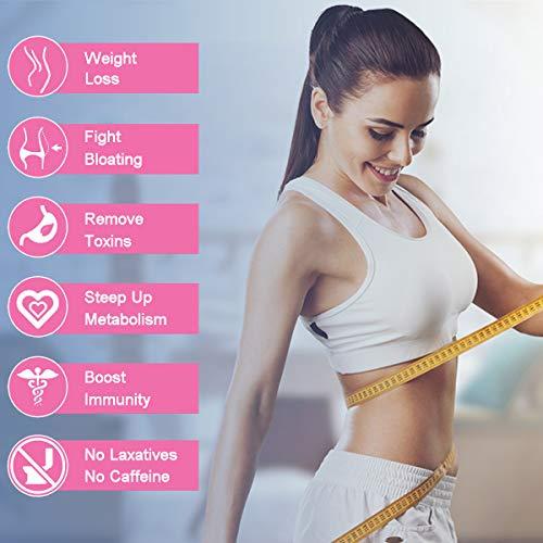 Detox Tea for Weight Loss, O.K Tea 28 Day Skinny Tea Body Detox Cleanse Diet Tea 13