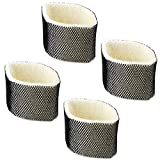 IN VACUUM Humidifier Filters for Holmes HWF75PDQ-U HWF75 HWF75CS - Filter D, 4 Pack Replacement for Holmes HM3500 HM3501 for Sunbeam SCM3501 SCM3502 for Bionaire W12