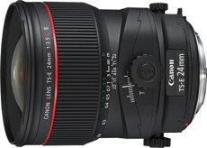 Canon TS-E 24 mm f/3.5 L II - Objetivo para Canon (distancia focal fija 24 mm, apertura f/3.5) negro