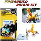 Car Windshield Repair Kit - Windshield Chip Repair Kit with Windshield Repair Resin for Fix Auto Glass Windshield Crack Chip Scratch