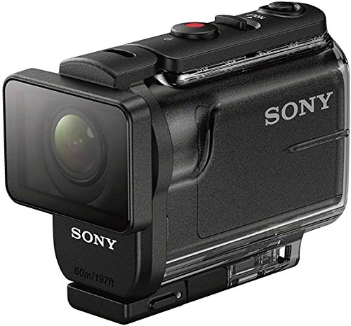 Sony HDR-AS50 Action Camera Full HD, Sensore CMOS Exmor R, Ottica Zeiss, SteadyShot Ottico, Nero