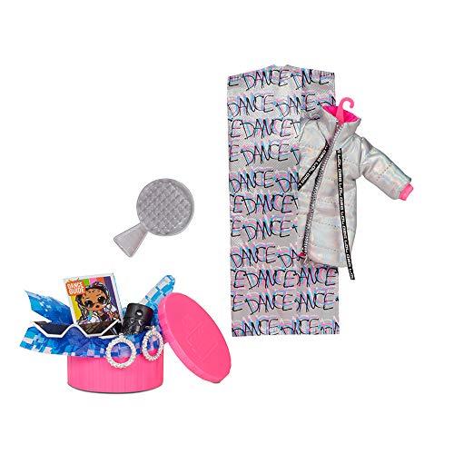 Image 2 - Poupée Mannequin LOL Surprise OMG Dance Dance Dance B-Gurl avec 15 Surprises, vêtements stylés, Lumière noire Magique, Accessoires, Chaussures, Socle, Pack TV. Pour fille de 4 ans et plus