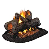 Peterson Real Fyre 24-inch (See-Thru) Golden Oak Gas Logs (logs Only - Burner Not Included)