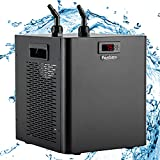 Poafamx Aquarium Chiller 79Gal Fish Tank Water Cooling System 1/3 HP for Hydroponics Home Axolotl Fish Coral Shrimp 110V with Pump and Pipe