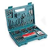 Makita b-53811Juego de accesorios, 100piezas, multicolor