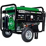 DuroMax XP4850EH Dual Fuel Portable Generator - 4850 Watt Gas or Propane Powered-Electric Start- Camping & RV Ready, 50 State Approved