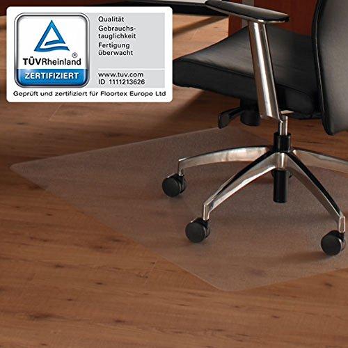 Floortex 619510 Bodenschutzmatte ULTIMAT II 120 x 150 cm Transparent Hartboden 100{2fa8d8c057508d85d7d140bc49afa8d905ada55945130499cd86d88afd719946} Polycarbonat TÜV Zertifiziert
