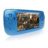 Consoles de Jeux Portables, 3000 Jeux Rétro Jeu Vidéo Portable 4,3 Pouces 16...