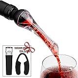 Mafiti Aérateur de vin Bec verseur décanteur Anti-Goutte pour Une...