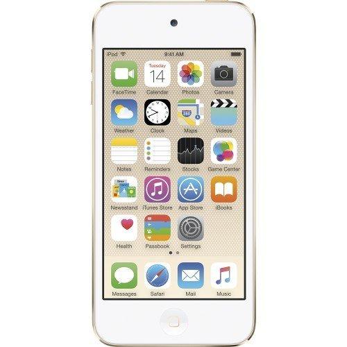 Apple iPod Touch 128GB Gold (6th Generation) MKWM2LL/A (Renewed)