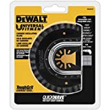 DEWALT Oscillating Tool Blade for Grout Removal, Fast Cutting, Carbide...