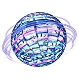 Flying Ball Toys Hand Controlled Drone Mini Drone Toys Gifts for Kids and Adults 360° Rotating Shinning LED Lights Hands Free for Boys Girls Indoor Outdoor