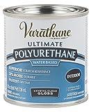 Varathane 200061H Water-Based Ultimate Polyurethane, Half Pint, Gloss Finish, 8 Fl Oz