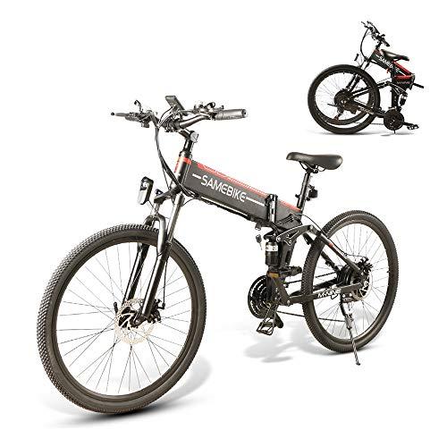SAMEBIKE LO26 Jante de vélo électrique Pliante 48 V 500 W vélo 3 Modes 26 Pouces