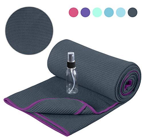 51febq037EL - The 7 Best Yoga Towels for Surviving Sweaty Practices