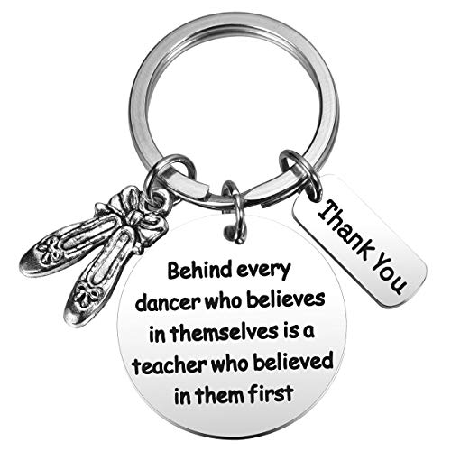 MIXJOY Dance Teacher Gift Dance Teacher Keychain Dance...