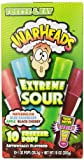 Warheads, Fat Free Freezer Pops, Assorted Flavors, Extreme Sour (12 Boxes, 10 - 1 oz pops per box)