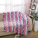 i-baby Large Teenage Girl Blanket Juvenile Fleece Throw Ultra Soft Kids Blanket Warm Plush Baby Blankets, Super Cozy, Lightweight Blanket, 127x152cm (Rainbow, 50x60 Inch)