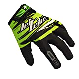 Race Skin PWC Rec Jet Ski Gloves - Green (2XL)
