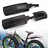 Farway 26 inch Snow Bicycle Bike Front Rear Mudguard Cycling Bike Fender for Fat Tire Mountain Bike Outdoor