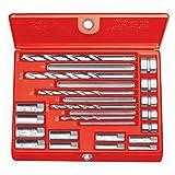 RIDGID 35585 10 Screw Extractor Set, 1/4-inch to 1/2-inch Broken Screw Extractor