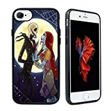 The Nightmare Before Christmas Hybrid TPU PC Printed Cover with Aluminum Metal Phone Cases for iPhone 8 / iPhone 7
