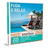 smartbox - Cofanetto Regalo Fuga e Relax - Idea Regalo per la Coppia - Una Notte con Colazione e Un Momento Relax per 2 Persone