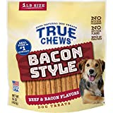 True Chews Bacon Style Bacon with Beef Flavor 16oz