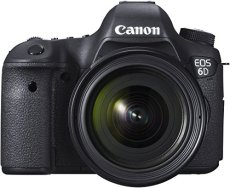 Canon EOS 6d SLR de cámara digital (20,2 Mpx, sensor CMOS, Live View, full HD, WiFi, GPS, DIGIC 5 +)