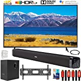 SAMSUNG UN65TU8300 65' HDR 4K UHD Smart Curved TV (2020 Model) Bundle with Deco Gear Home Theater...